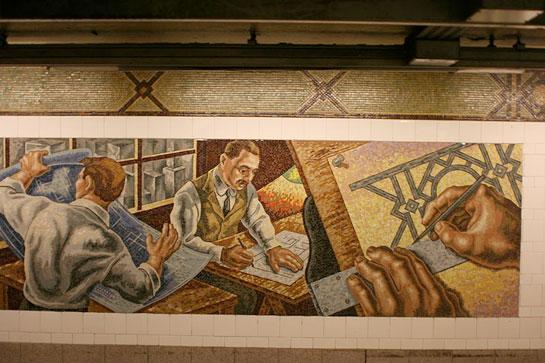 azulejo metro NY