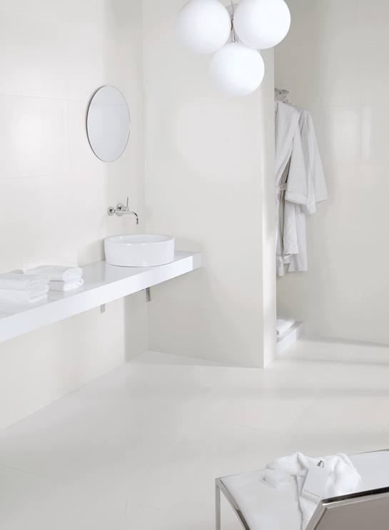 Azulejos para ba o blanco - Bano azulejo blanco ...