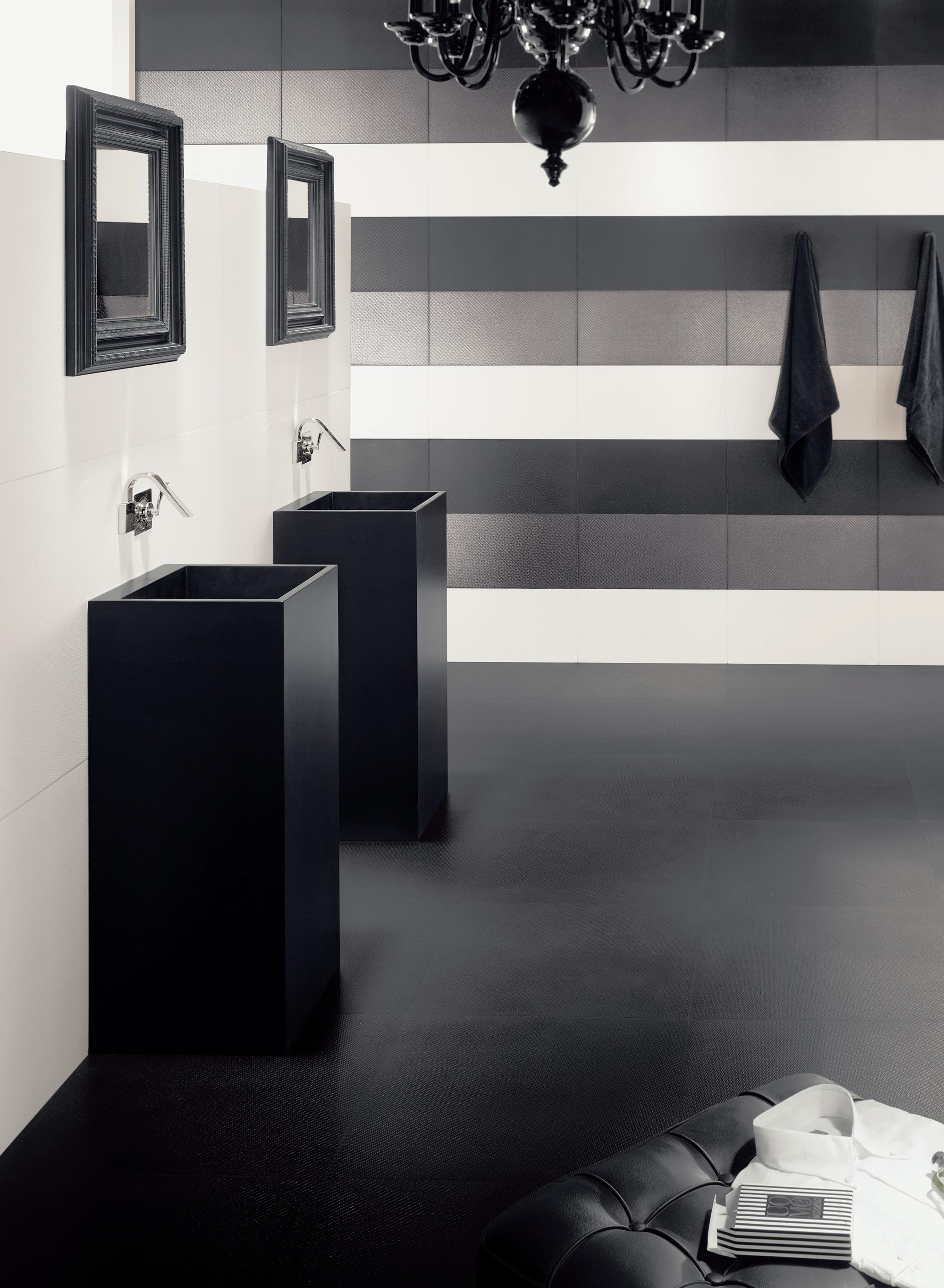 Reformas blog elegir un azulejo para el ba o for Azulejo de parquet negro imitacion