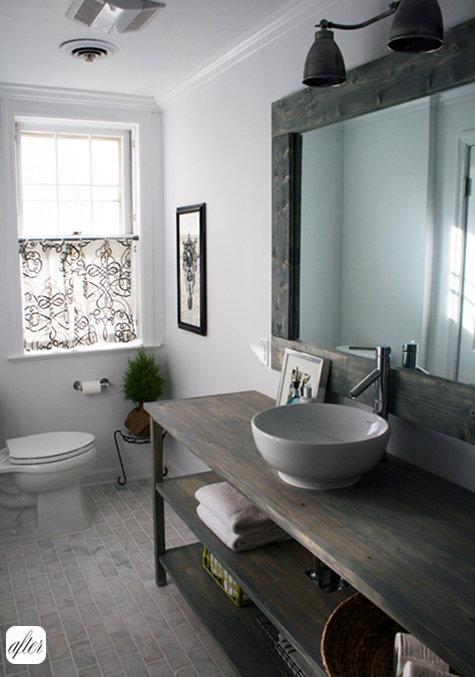 reforma en el ba o de invitados reformas blog. Black Bedroom Furniture Sets. Home Design Ideas