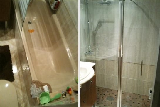 Reformasblog el blog anti cosa para tu hogar part 11 - Quitar banera y poner ducha ...