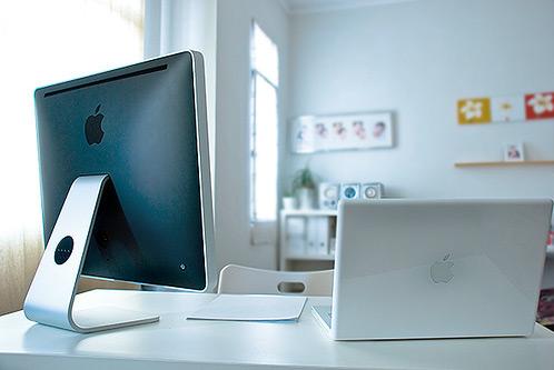 Ideas para tu oficina en casa reformas blog for Oficinas apple