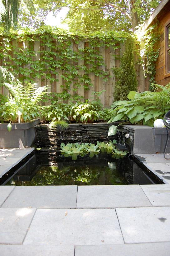 El jard n de karen reformas blog for Cascadas modernas para jardin