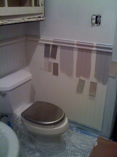 Muebles Para Baño Pequeño : Reformas en un baño muy feo