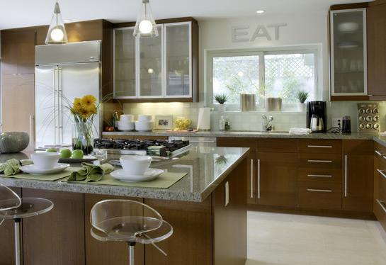 Cocinas con islas de marmol images for Cocina comedor con isla