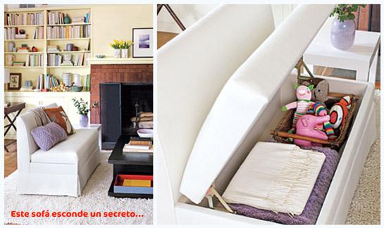 Elige tu sof reformas blog for Sofa con almacenaje