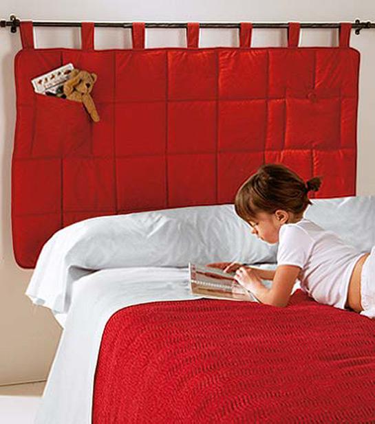 Cabeceros de cama reformas blog for Cabeceros de tela decoracion