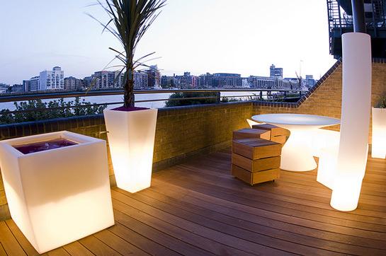 Puedes dar un cambio radical a tu terraza y convertirla en una moderna ...