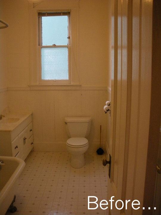 reforma antes y después en cuarto de baño San Francisco