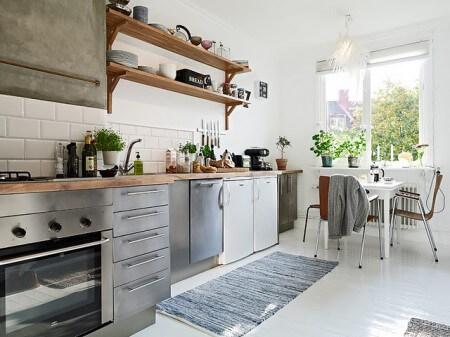 El estilo industrial en casa reformas blog for Cocinas industriales para el hogar