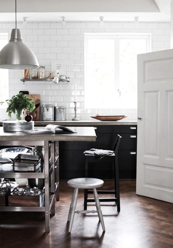 El estilo industrial en casa reformas blog for Decoracion cocinas estilo industrial
