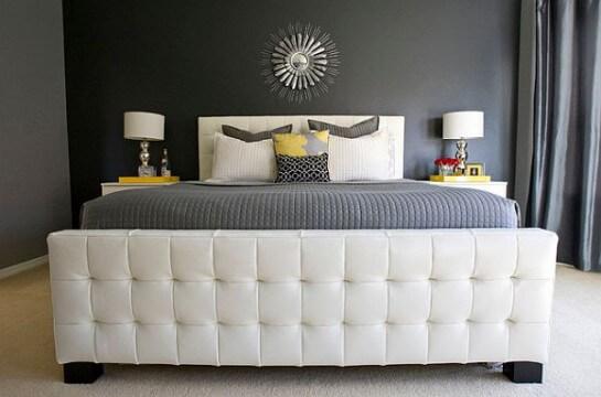 incredible modern bedroom color schemes   Reformas Blog : Combinaciones de colores «diferentes» para ...