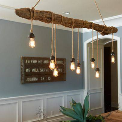 Ideas originales de iluminaci n low cost reformas blog - Deco lounge hout ...