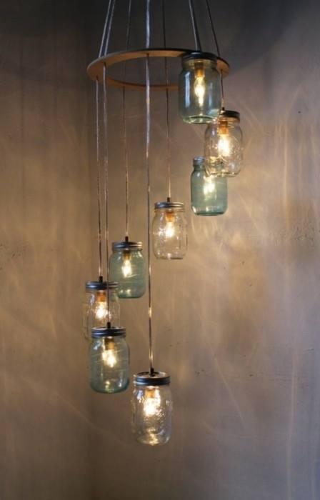 Ideas originales de iluminaci n low cost reformas blog - Iluminacion estilo industrial ...