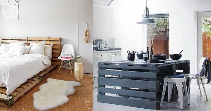 De ideas trucos y ejemplos de muebles elaborados con palets de madera